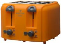 Maxstar PT01 Crispz+ 1500 W Pop Up Toaster(Orange)