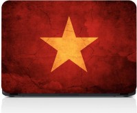 GrapeApe GrapeApe™ Red Star Laptop Skin - High Quality 3M Vinyl 3M VINYL Laptop Decal 15.6