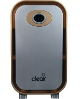 View CleAir Mini Air Purifier - 180 Sq. Ft., CADR 134.5 m3/hr - with 4-Level HEPA Filter for Home, Office - Filters 99% PM2.5 (1h), Bacteria 99.99% (1h) - with Timer (Gold, Silver) Portable Room Air Purifier(Silver) Home Appliances Price Online(CleAir)