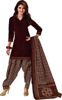 Reya Crepe Printed Salwar Suit Dupatta Material(Un-stitched)