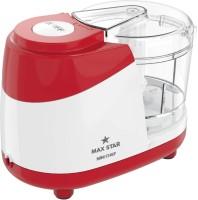 Maxstar MC01 Mini Chef 250 W Hand Blender(Red & White)