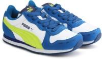 Puma Boys & Girls Lace Sneakers(Blue)