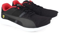 Puma Boys & Girls Lace Running Shoes(Black)