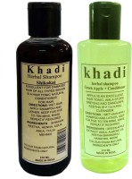 Khadi Herbal Shampoo Pack(420 ml)