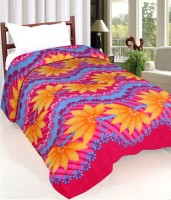 IWS Printed Single Blanket(Polyester, Multicolor)