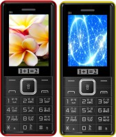 1+1=2 D3 Combo of Two Mobile(Black & Red $$ Black & Yellow) - Price 1329 16 % Off