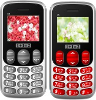 1+1=2 D5 Combo of Two Mobile(Grey & Red) - Price 1169 26 % Off