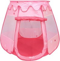 PIGLOO Pop Up Play House Tent for Kids Ages 3+ Years, 81 x 69 x 93 cm(Pink)