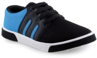 SHOEFLY Black-347 Casuals For Men(Black)