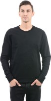 Arrow Full Sleeve Solid Men Sweatshirt