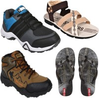 Oricum COMBO(O)-610-606-946-653 Running Shoes For Men(Multicolor)