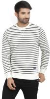 Flying Machine Full Sleeve Striped Men's Sweatshirt