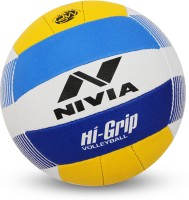 Nivia Hi-Grip Volleyball - Size: 4(Pack of 1, Multicolor)