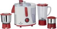 Maxstar JMG03 Supreme 500 Juicer Mixer Grinder(Red, White, 3 Jars)