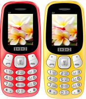 1+1=2 D7 Combo of Two Mobile(Red & Yellow) - Price 1119 30 % Off