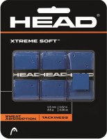 Head Extreme Soft Blu Super Tacky  Grip(Blue, Pack of 3)
