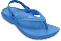 Crocs Boys & Girls Slip On Slipper Flip Flop(Blue)