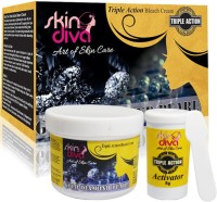Skin Diva Triple Action Gold Diamond Pearl Bleach(42 g) - Price 85 62 % Off