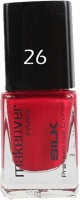 Makeover Professional Nail Paint Cherry Red-26 Cherry Red-26(9 ml) - Price 115 61 % Off