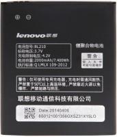 Lenovo  Battery - BL-210 Battery for A536 A656 A658T A766 A750E A770 S820 S650 Mobiles(Black, Grey)