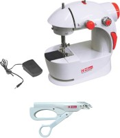 View Hilton 2 in 1 Electric Scissor & Electric Sewing Machine( Built-in Stitches 25) Home Appliances Price Online(Hilton)