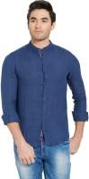 Spykar Men's Solid Casual Blue Shirt