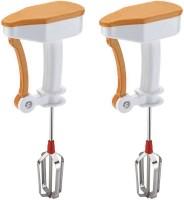 WCSE Power free easy flow Orange and Orange color 0 W Hand Blender(Orange)