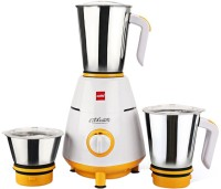 Cello Grind N Mix 800 500 W Mixer Grinder(White, Yellow, 3 Jars)