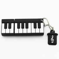 View Microware Piano Shape 16 GB Pen Drive(Black) Price Online(Microware)