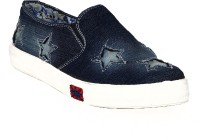 1 WALK 1 WALK MAPPLE COLLECTION ORIGINAL COMFORTABLE STYLISH WOMEN SHOES /SNEAKERS/COLLEGE WEAR/2018 LATEST COLLECTION/PARTY WEAR/CASUAL DRESSING WEAR/WEEDING WEAR-Blue Casuals For Women(Blue)