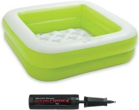 Always Sporty KIDS BOX POOL WITH PUMP COMBO GREEN.(Green)