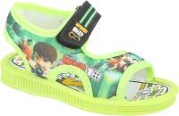 WINDY Boys & Girls Velcro Flats(Green)