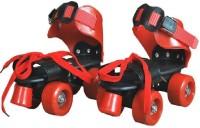 M-Alive Adjustable Quad Roller Skating Shoes for kids Inline Skate In-line Skates - Size 5-9 UK(Multicolor)