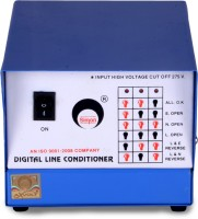 View simon 0.5 KVA DlC voltage stabilizer (DLC) For Computer(white and blue) Home Appliances Price Online(simon)