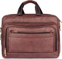 The Clownfish Executive Laptop Briefcase Medium Briefcase - For Men   Women( Brown) 6d178aef9b105