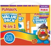 PlaySkool 4 Pk Flash Cards Kit For Kids(Multicolor)