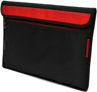 Saco Pouch for Tablet iBall Slide WQ149r 10.1-inch Two-In-One Laptop Bag Sleeve Sleeve Cover (Red)(Red)