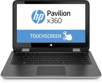 HP Pavilion Core i5 7th Gen - (8 GB/256 GB SSD/Windows 10 Home) Pavilion X360 2 in 1 Laptop(13.3 inch, SIlver & Grey)   Laptop  (HP)