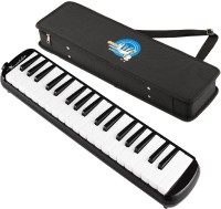 Swan 37 Key Melodica with Case - Black(Black)