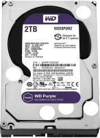 View WD SATA 2 TB Surveillance Systems Internal Hard Disk Drive (WD20PURZ) Price Online(WD)