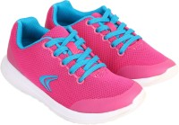 Clarks Girls Lace Running Shoes(Pink)