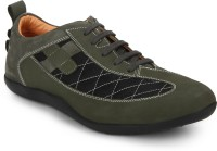 Red Chief RC3456 025 Casuals For Men(Green)