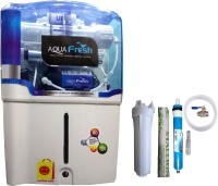 View Shopping Store Aqua Fresh 12 RO + UV + UF + TDS Water Purifier(White) Home Appliances Price Online(Shopping Store)