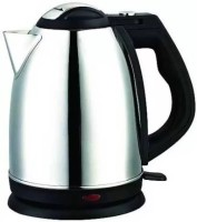 Lagom MS -68 Hot Water Pot Portable Boiler Tea Coffee Warmer Heater Cordless Electric Kettle Electric Kettle(1.8 L, Silver)