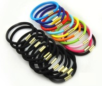 Pixelfox Charming Attractive Colorful Rubber Band(Multicolor, Black) - Price 145 51 % Off