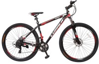 LUMALA Sniper 2.0 27.5 Alloy Bike For Adutls Black 27 T 21 Speed Mountain Cycle(Black, Red)