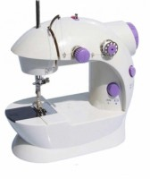 View Tradeaiza Portable & Compact 4 in 1 Mini Adapter Foot Pedal Electric Sewing Machine( Built-in Stitches 1) Home Appliances Price Online(Tradeaiza)