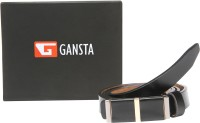 Gansta Women Formal, Party Black Genuine Leather Belt