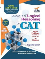 Koncepts of LR - Logical Reasoning for CAT, XAT, IIFT, MAT, CMAT, NMAT & other MBA Exams 2nd Edition 2 Edition(English, Paperback, Gajendra Kumar)