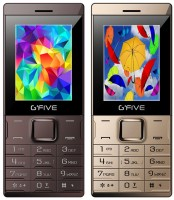 Gfive Z9 Combo of Two Mobile(Coffee, Champagne gold) - Price 1664 16 % Off